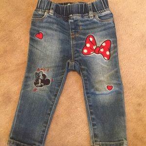 Baby Gap Disney Jeans